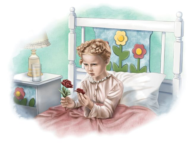 Illustration From Zuzu S Petals A Dream Of It S A Wonderful Life Childrens Book Co Authored By Karolyn Its A Wonderful Life Christmas Movies Childrens Books