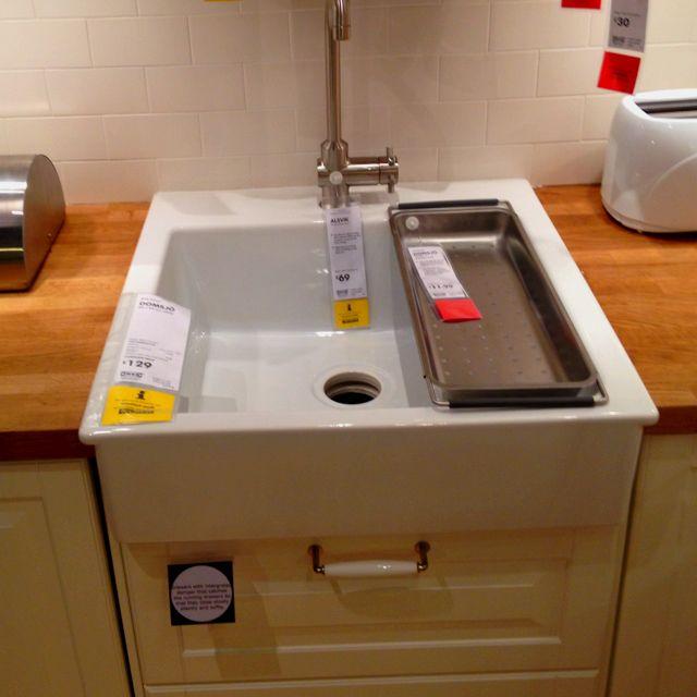 Ikea Domsjo Sink Domsjo Sink Apron Front Sink Kitchen