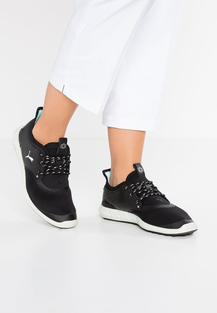PUMA IGNITE SPIKELESS SPORT - shoes black silver aruba blue Women ...      Click on the image for additional details.  LadiesGolfShoesAndSandals 448b28fb9