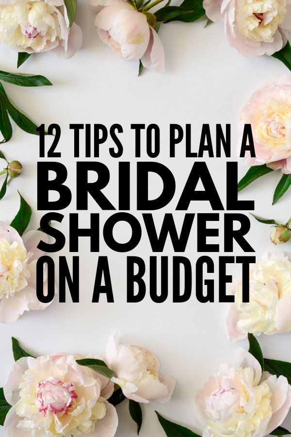 How to Throw a Bridal Shower on a Budget: 12 Tips to Consider