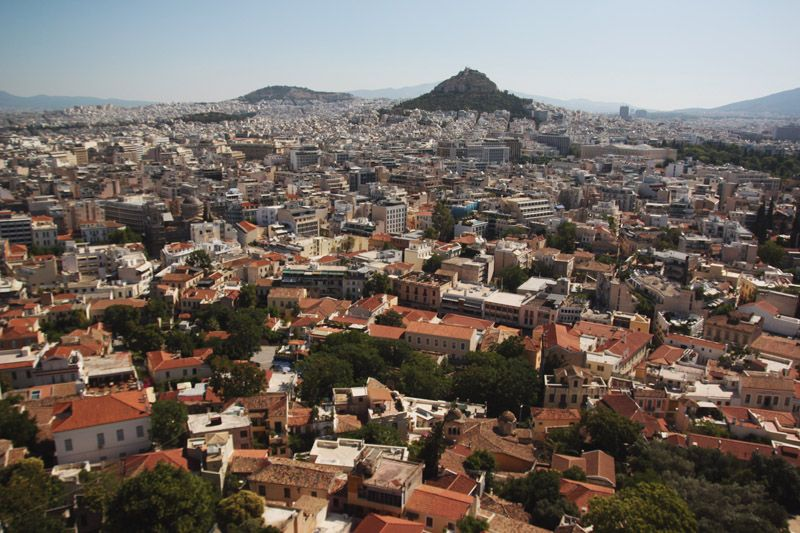 Cruising the Med / Athens