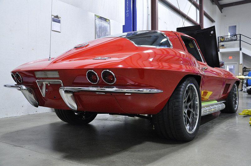 1963 1964 1965 1966 1967 C2 Corvette Chassis Suspension