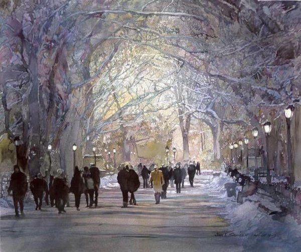 Watercolor by John Salminen