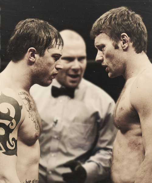 Tom Hardy and Joel Edgerton in Warrior (2011) I've watched ...