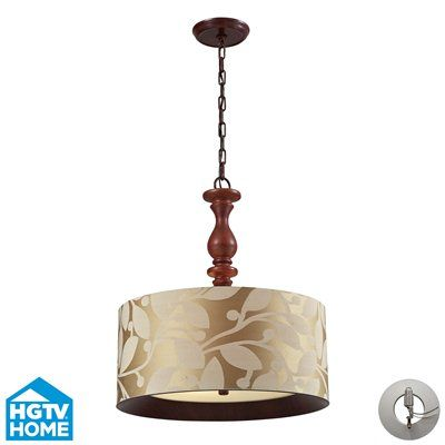 Westmore Lighting 14151/3 3 Light Nathan Large Pendant
