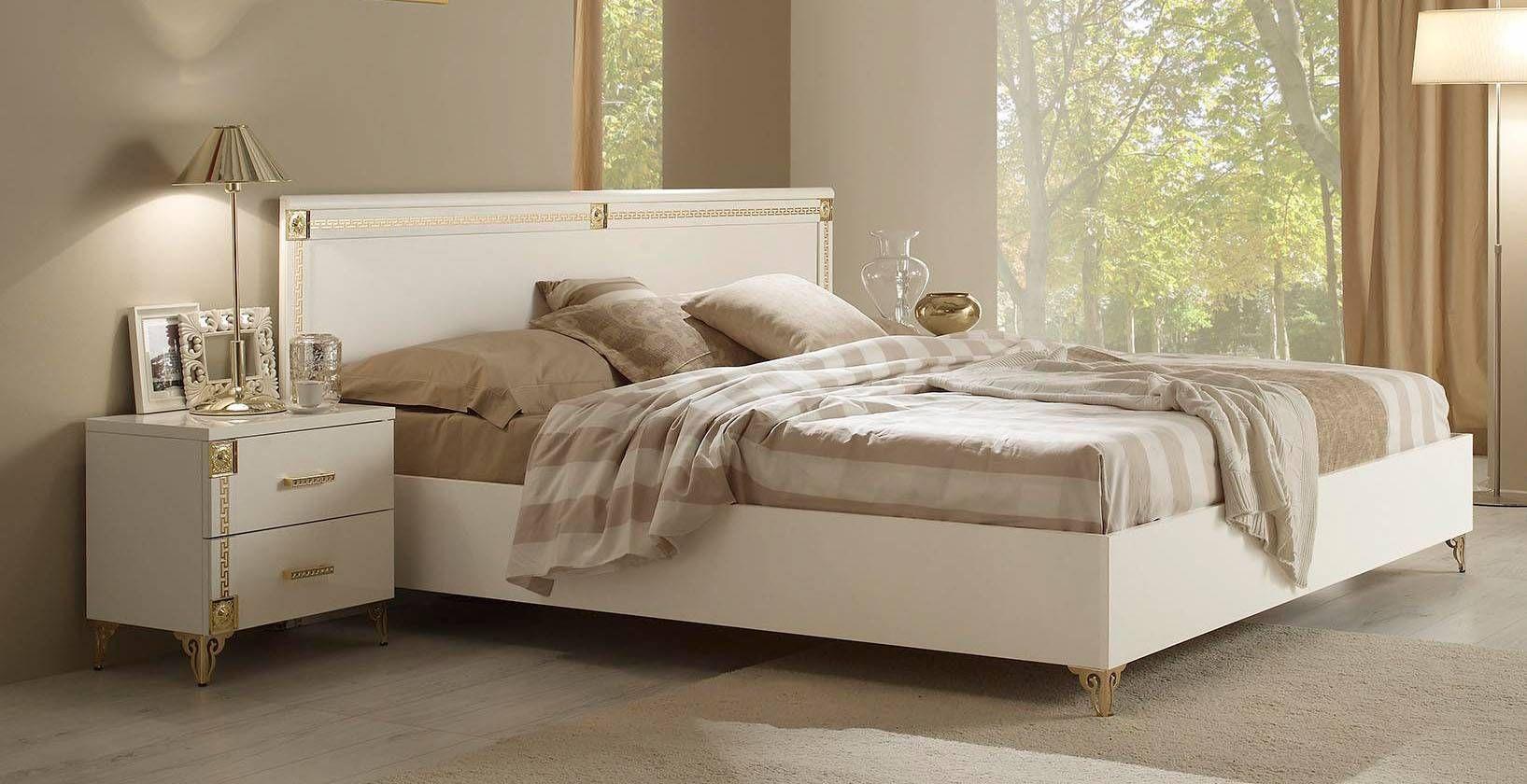 High End Plattform Betten Luxusschlafzimmer
