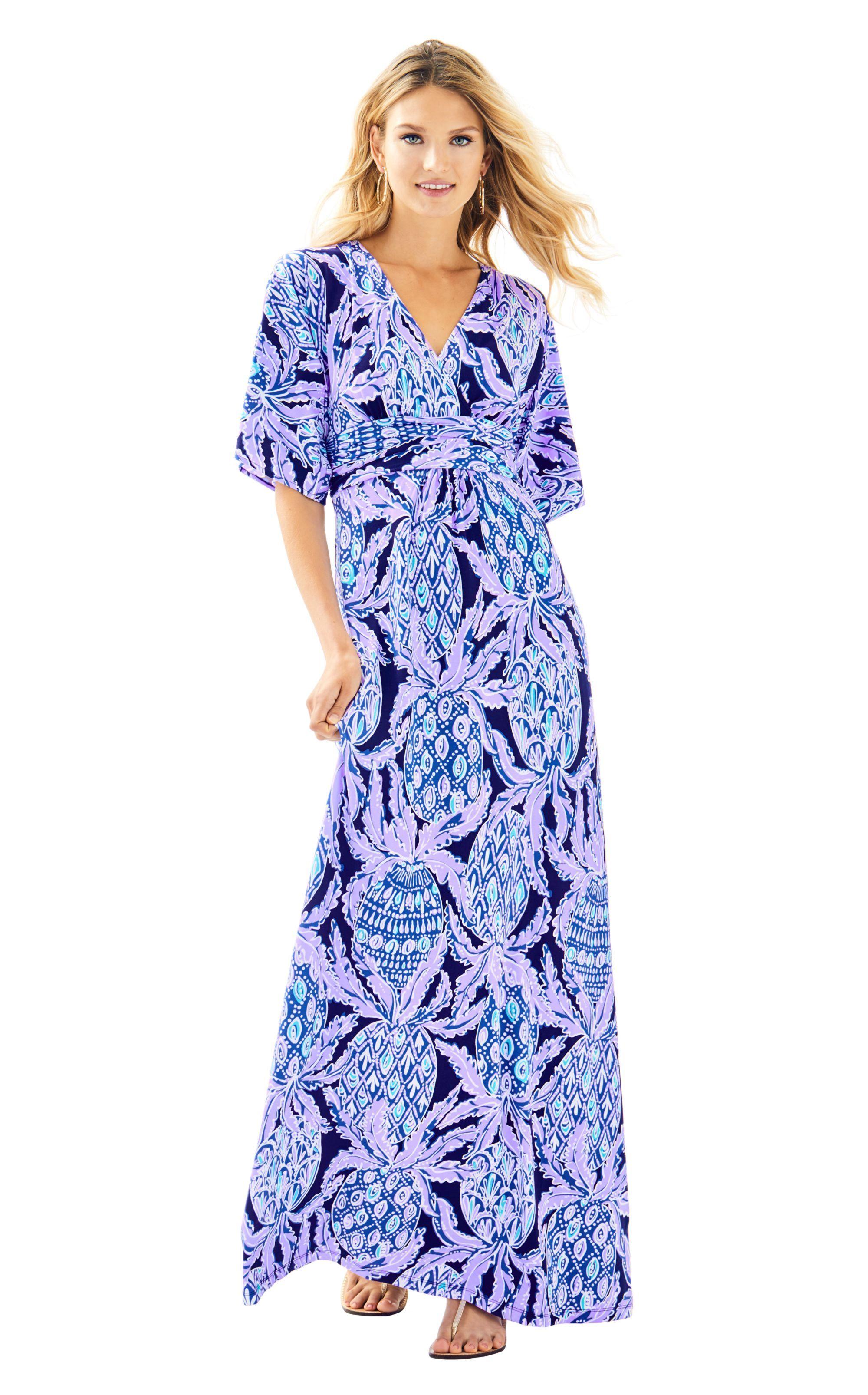 e30c29ad7a8 Lilly Pulitzer Parigi Maxi Dress - Lilac Verbena Pop Up Coco Safari ...