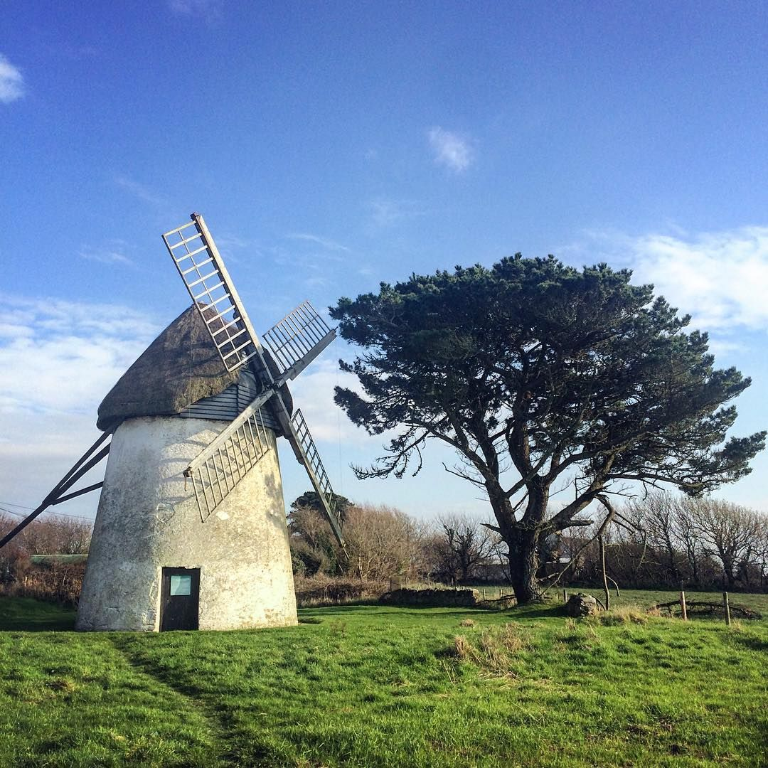 Tacumshane Windmill Co Wexford Built In 1846 It Is One Of The