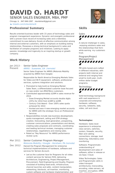 Sales Manager Resume Pdf Sales resume examples