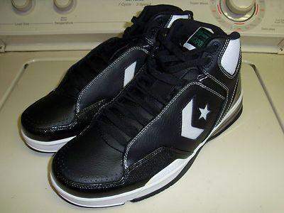 d1040b0d9606 Converse Weapon Evo Mid! NIB! Size 12! Black White Green! Larry Bird!  Celtics!