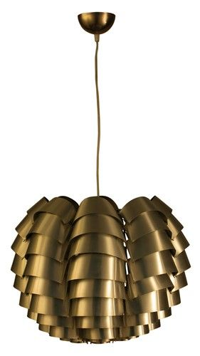 1967 Orion pendant light by designer Max Sauze / bebop design