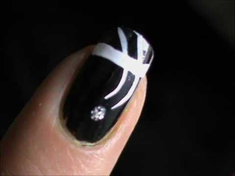 Simple And Easy Love It Credit Elegant One Minute Nail Art Easy