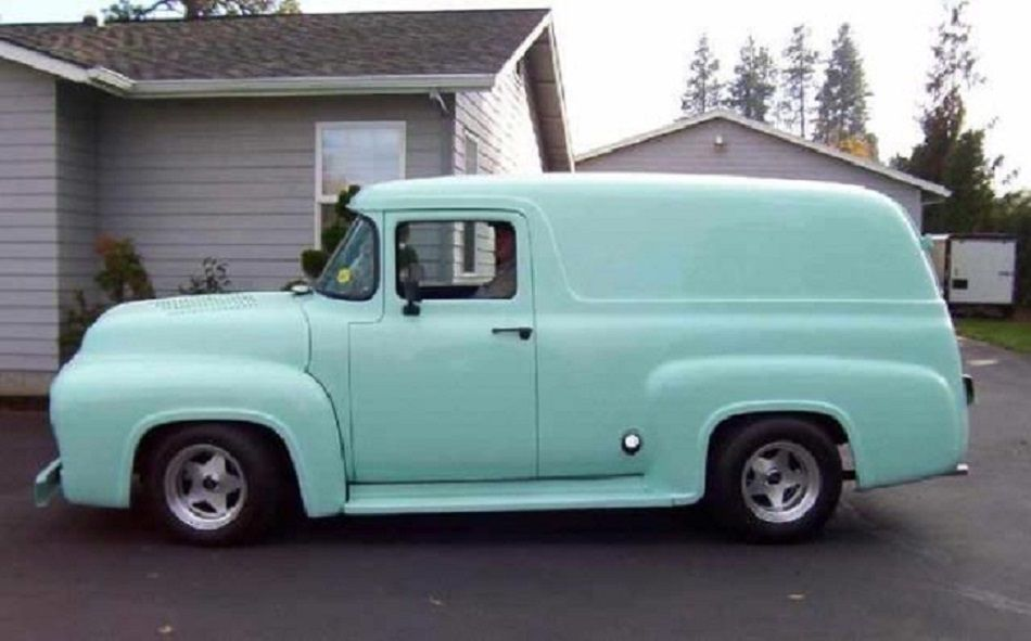1956 Ford Panel Delivery Truck. | Classic & Antique Ford Trucks ...