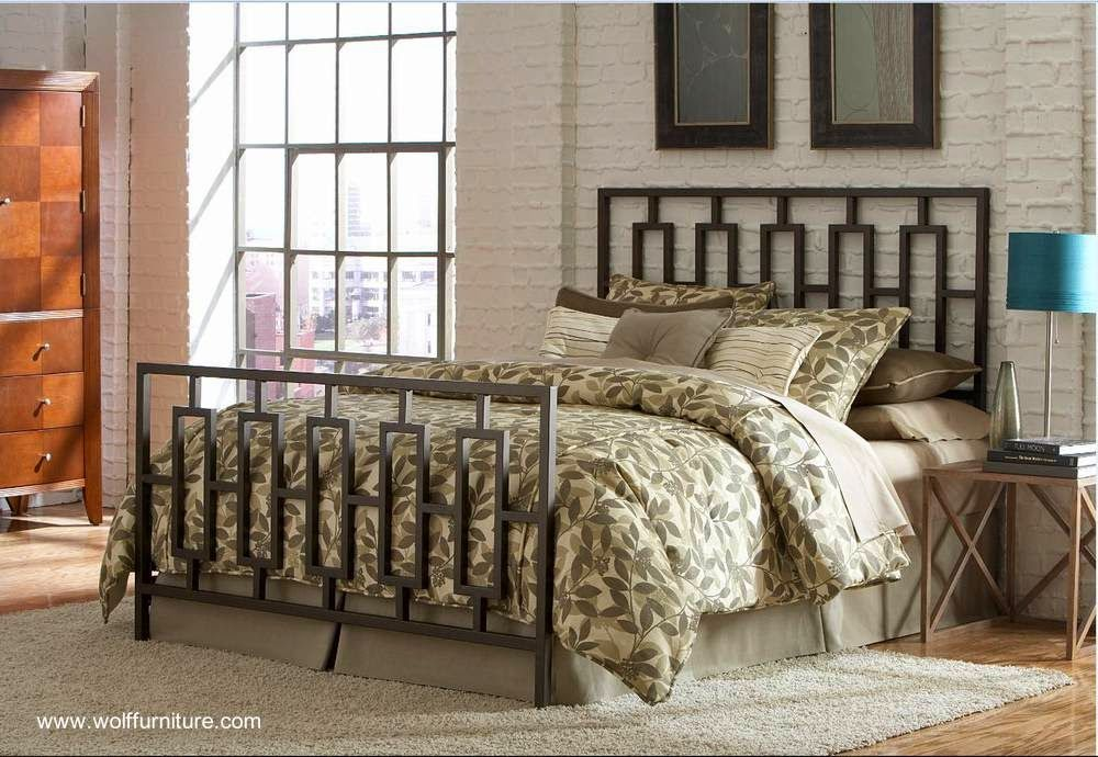 Fotos de modelos de camas dobles matrimoniales hechas de metal ...
