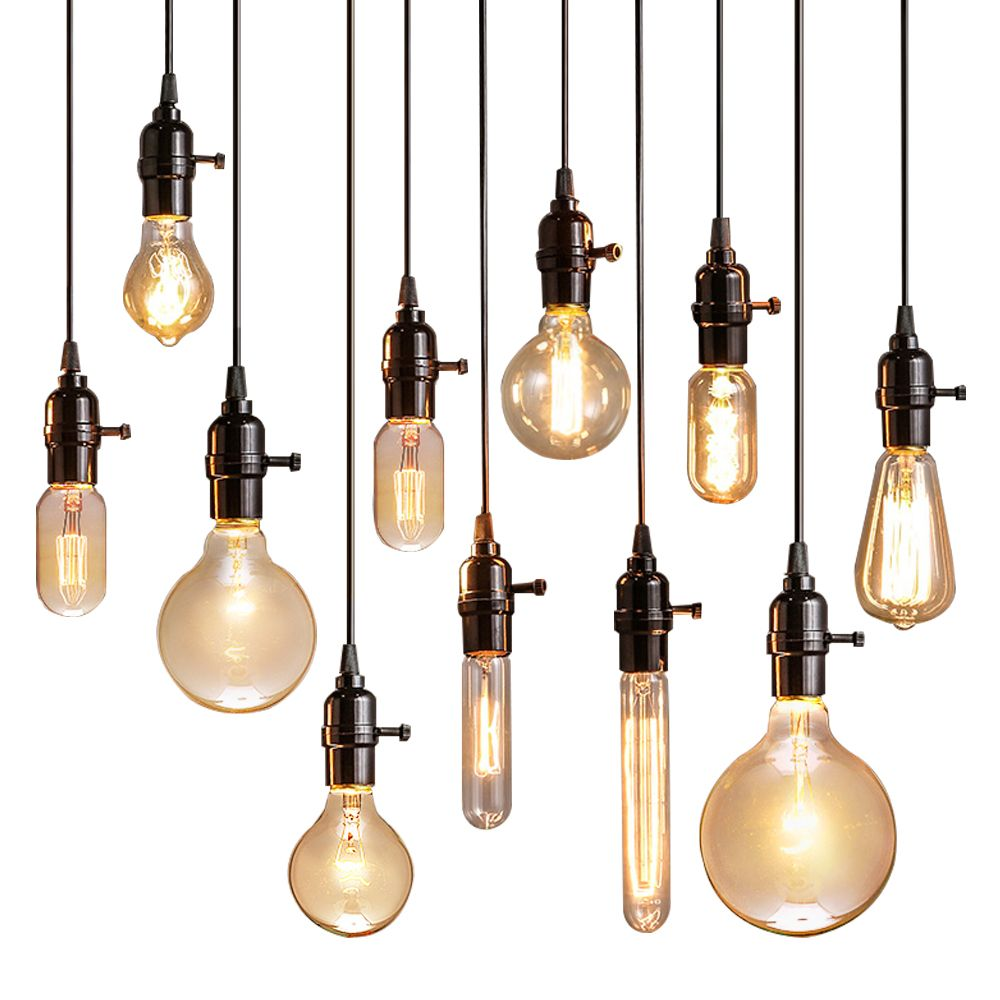 Vintage Pendant Lights Luminaire Lamp Loft E27 Hanglamp Lustre Lamparas Colgantes For Restaurant Vintage Pendant Lighting Pendant Lighting Vintage Pendant Lamp