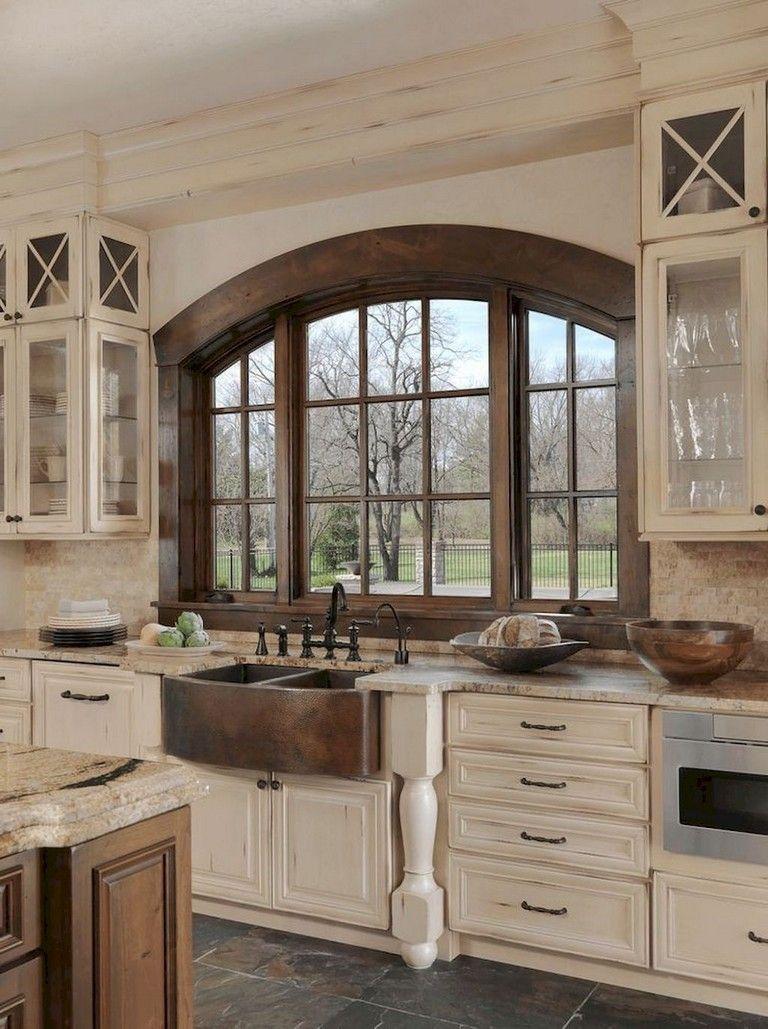 116 stunning modern rustic farmhouse kitchen