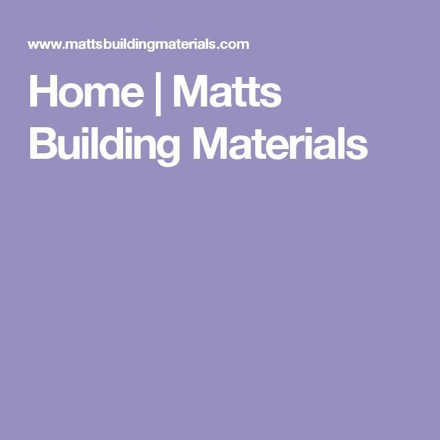 Home Matts Building Materials