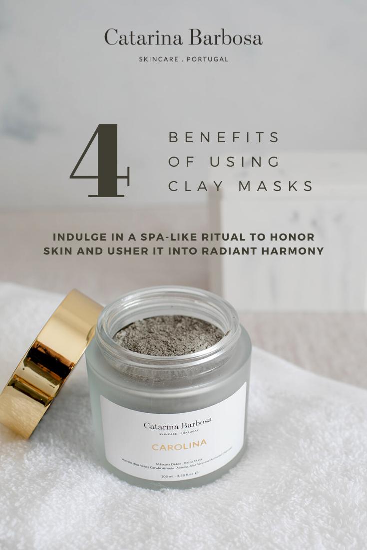 4 Benefits Of Using Clay Mask Clay Mask Benefits Clay Masks Bentonite Clay Mask