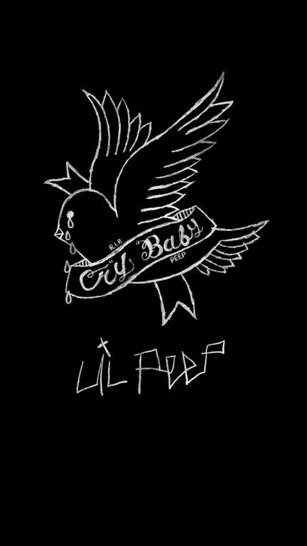 Crybaby [1440x2560] Amoledbackgrounds Lil peep tattoos
