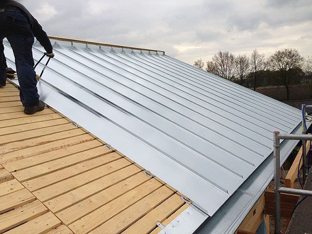 Afbeeldingsresultaat Voor Zinken Dak Zinc Roof Building A House Steel Frame House