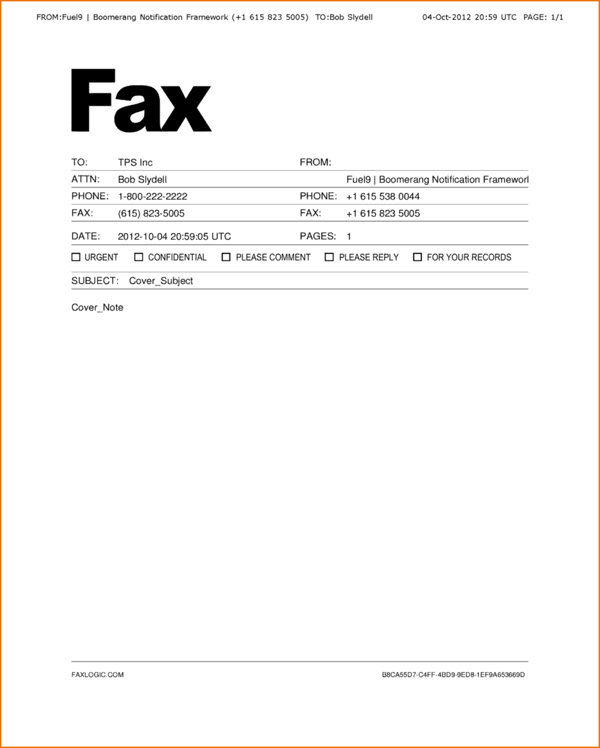 How To Fill Out A Fax Cover Sheet Free Printable Letterhead Sweep