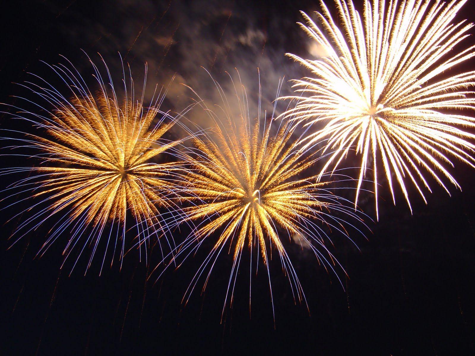 Champagne Fireworks