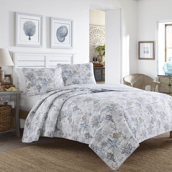 Tommy Bahama Bedding Beach Bliss Quilt Set