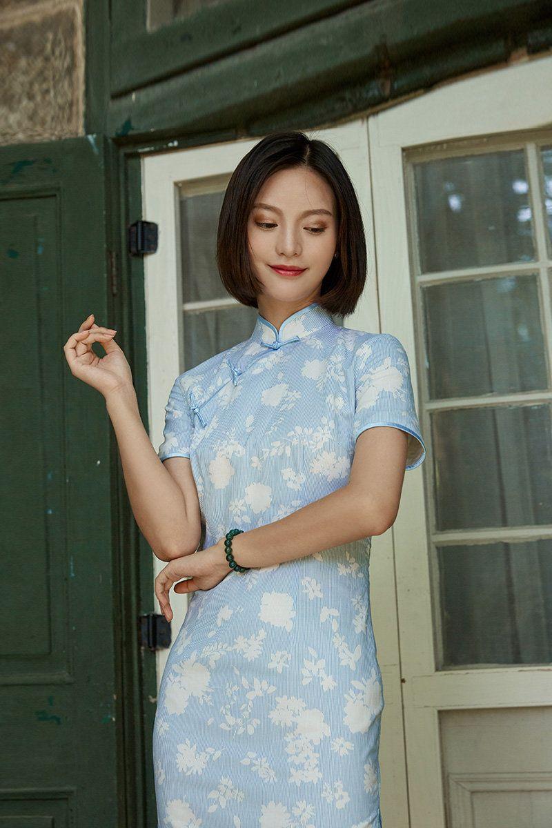 Moderne Cheongsam lässige Qipao Party-Kleid  Etsy  Dress for