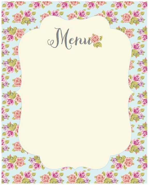 Vintage Baby Shower Free Printables including welcome sign, menu ...