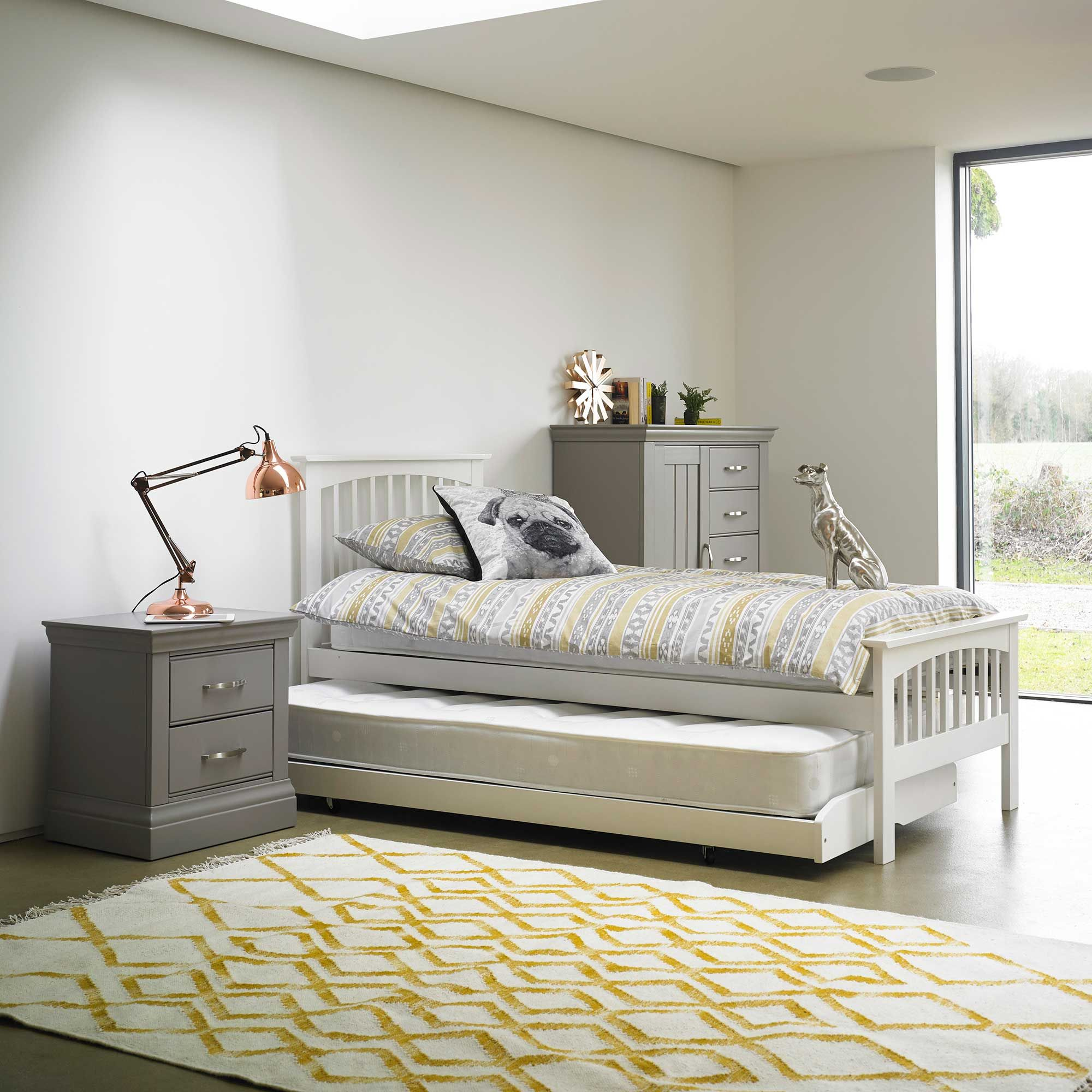 Asher Single Stacker Guest Bed White available