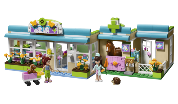 Fiona got 3 of the smaller sets for birthday. Its about time Lego came out with sets for girls!