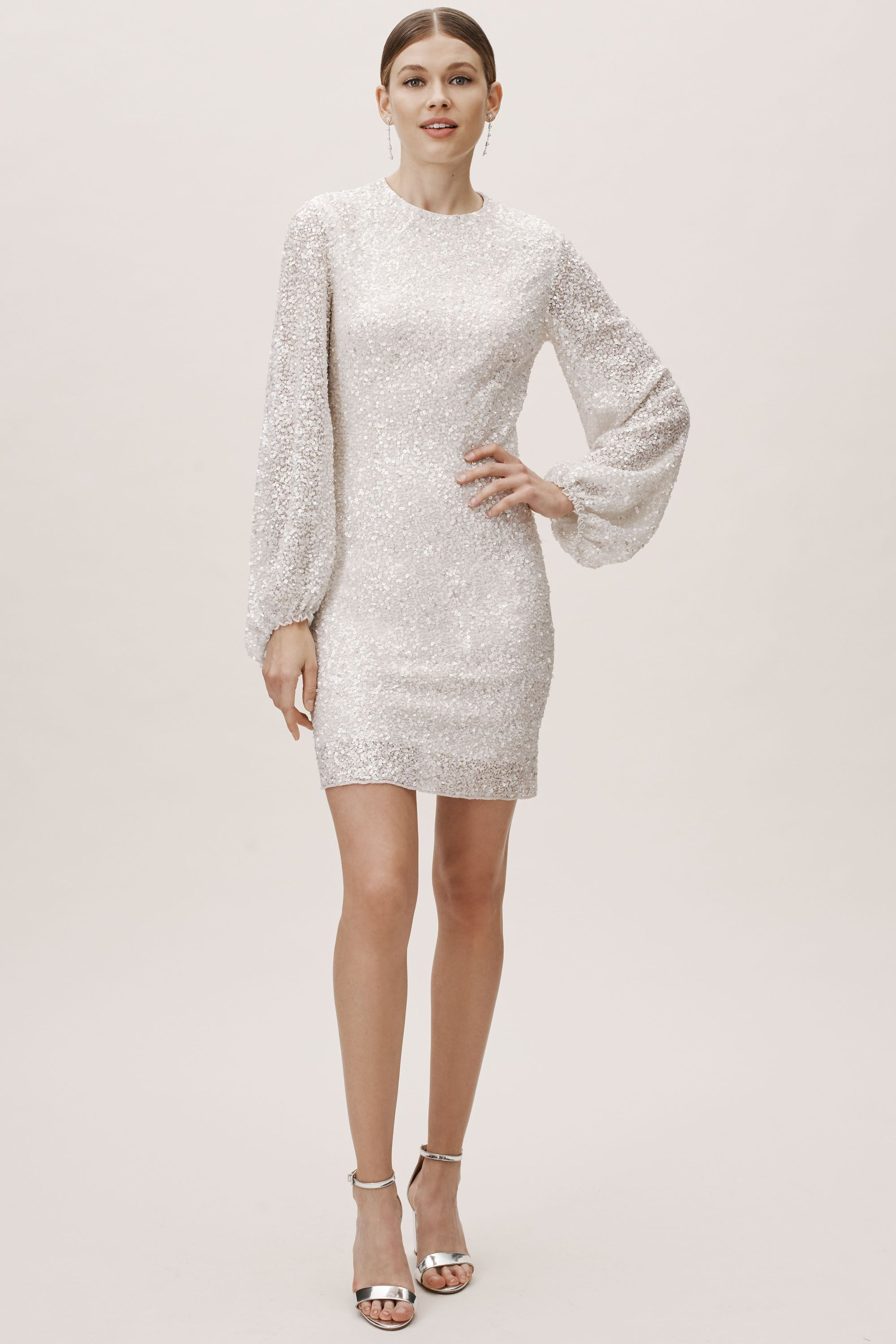 Goldie Dress From Bhldn Dress Stands Long Sleeve Sequin Dress Fashion [ 3000 x 2000 Pixel ]