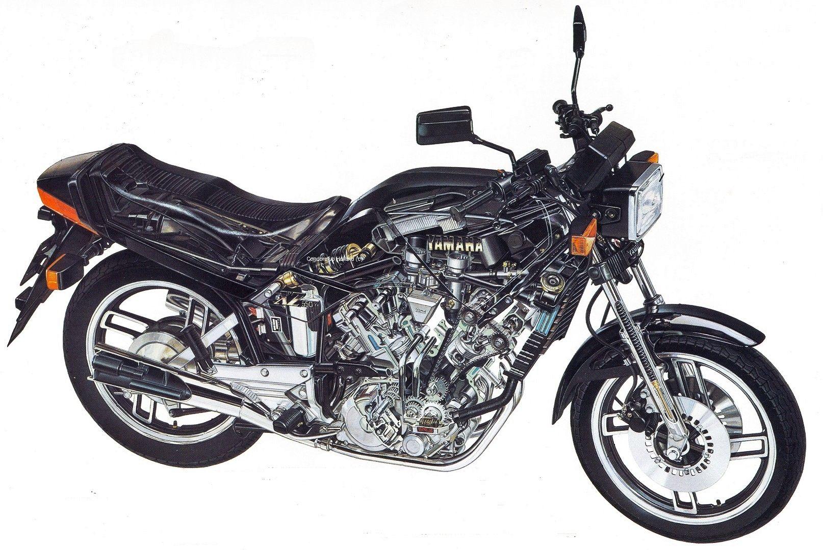 1983 Yamaha XZ 550 S - Moto.ZombDrive.COM