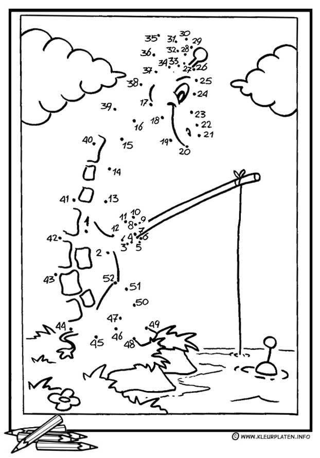 Pin by Sjoukje Miedema on zoek het cijfer | Puntos, Números, Dibujos