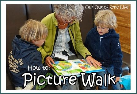 Beginning stages of Reading:  Learn how to Picture Walk Through a Book