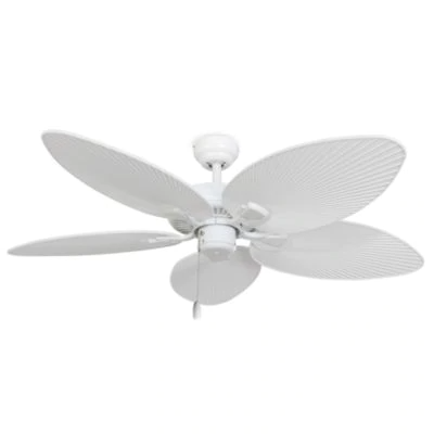 52 Inch Cabo Bay Outdoor White Ceiling Fan In 2020 White Ceiling Fan Ceiling Fan With Light Ceiling Fan