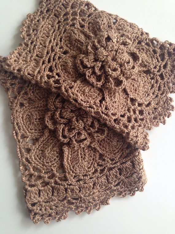 Crochet Cream Gold Sparkle Boot Cuffs with by QueensAccessories ...