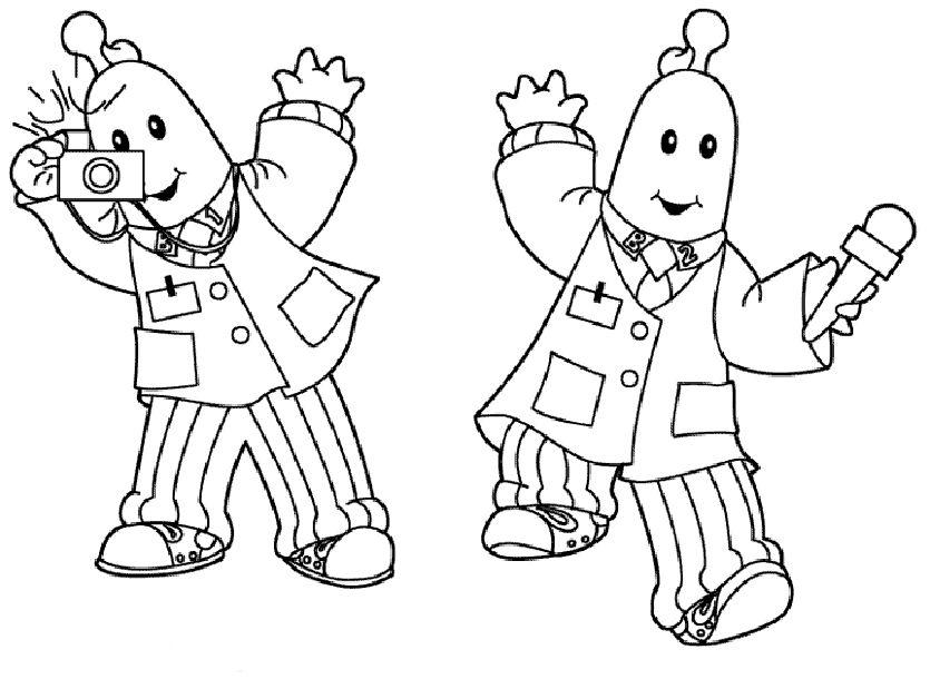 Dibujos para Colorear Bananas en Pijamas 3 | Dibujos para colorear ...