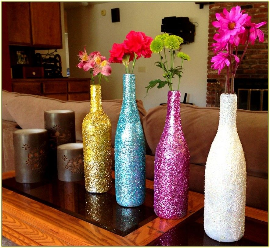 Decorate Wine Bottles Decorating Your Home Pinterest Decor Stunning Ideas To Decorate Wine Bottles