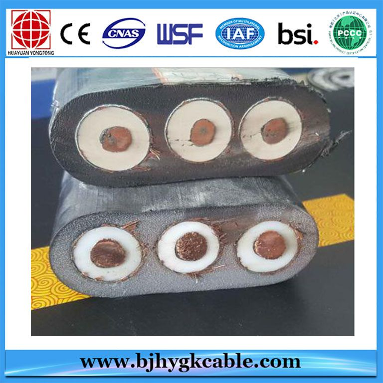 Yjgcfpb 10kv Power High Voltage Flat Cable High Voltage Cable Power Cable