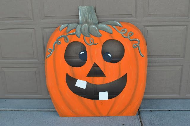 Swell Pumpkin Bean Bag Toss Kids Party Decorations Halloween Onthecornerstone Fun Painted Chair Ideas Images Onthecornerstoneorg