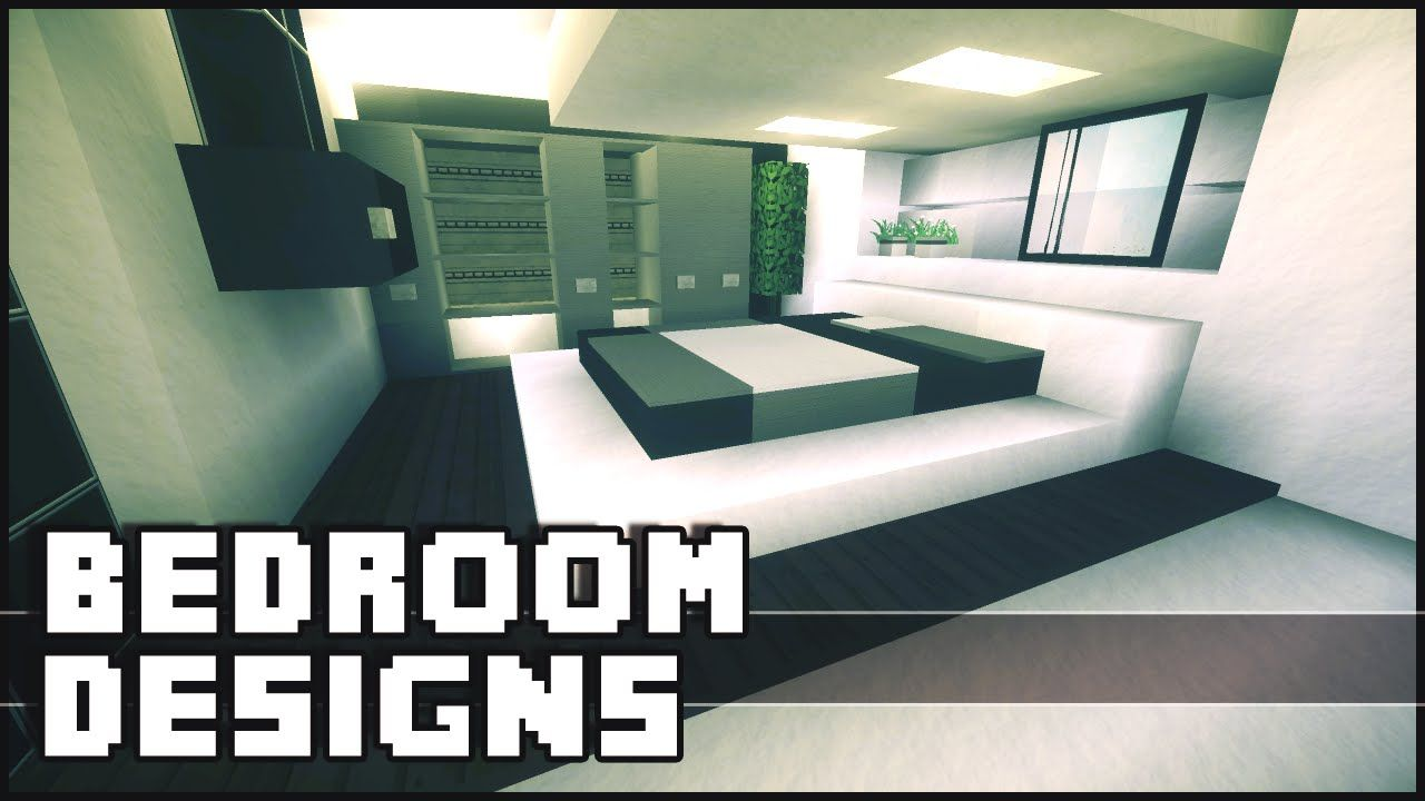Minecraft - Bedroom Designs & Ideas | Bedroom design ...