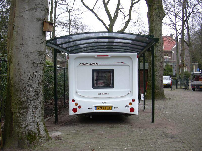 Vrijstaande Caravan Overkapping Westerzon Overkapping Caravan Camper Ideeen Carport