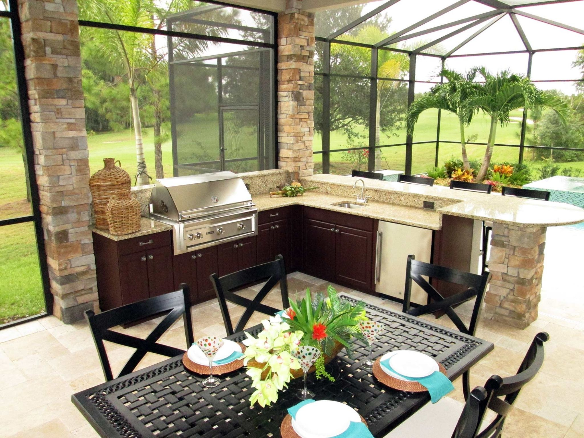 Polymer Cabinets For Outdoor Kitchens Favorite Interior Paint Colors Outdoor Kitchen Outdoor Kitchen Design Outdoor Kitchen Appliances