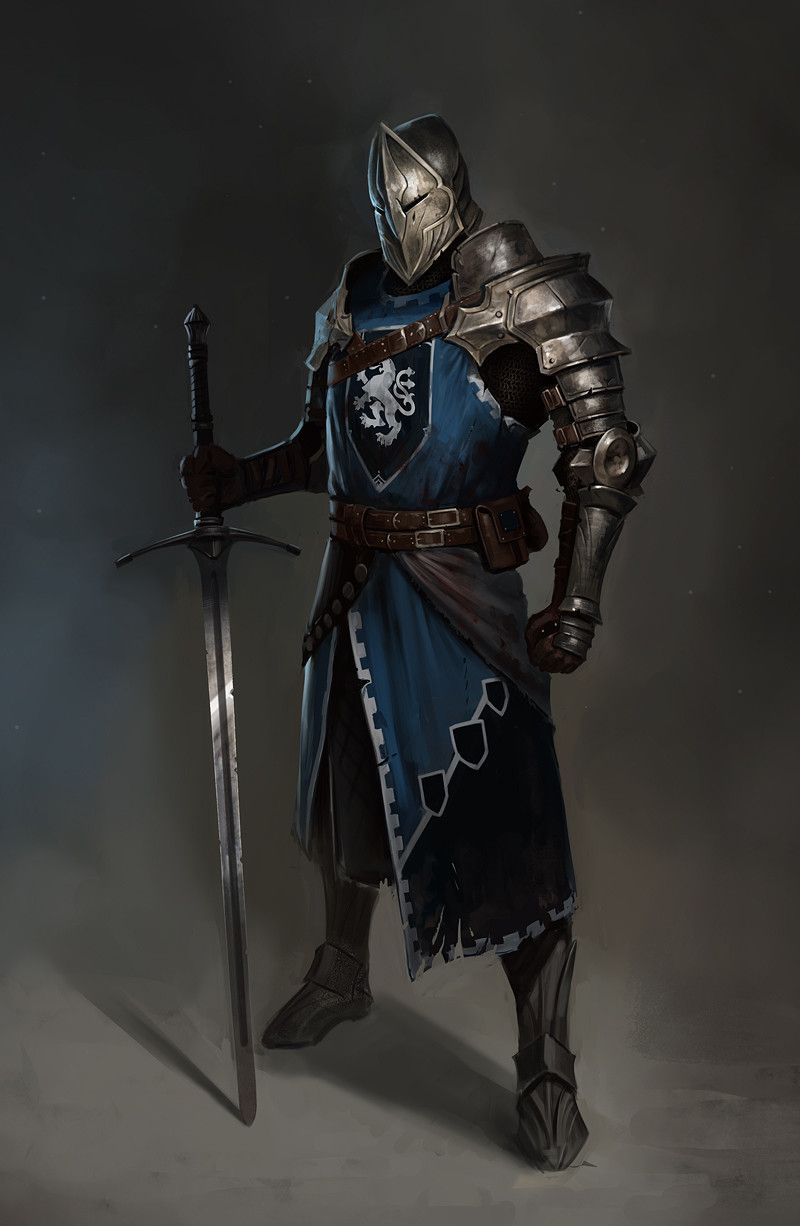 The Knight, Vladimir Buchyk on ArtStation at https://www ...