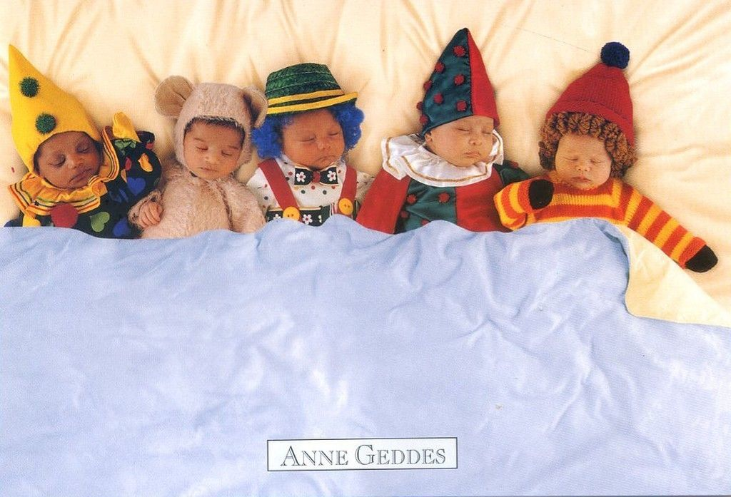 Anne Geddes Night Before Christmas