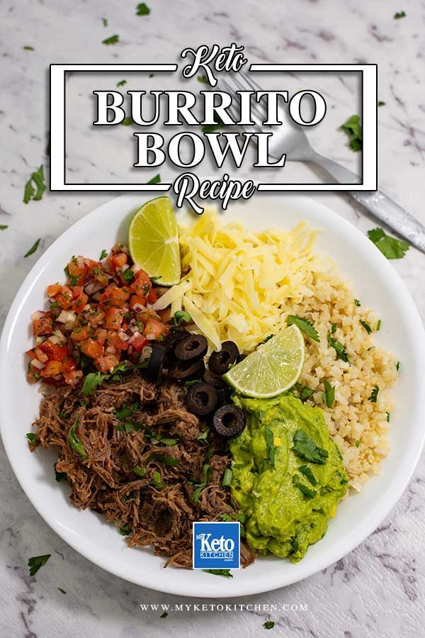 Photo of Best Keto Burrito Bowl Recipe – Delicious Low-Carb Beef Mexican Dish!