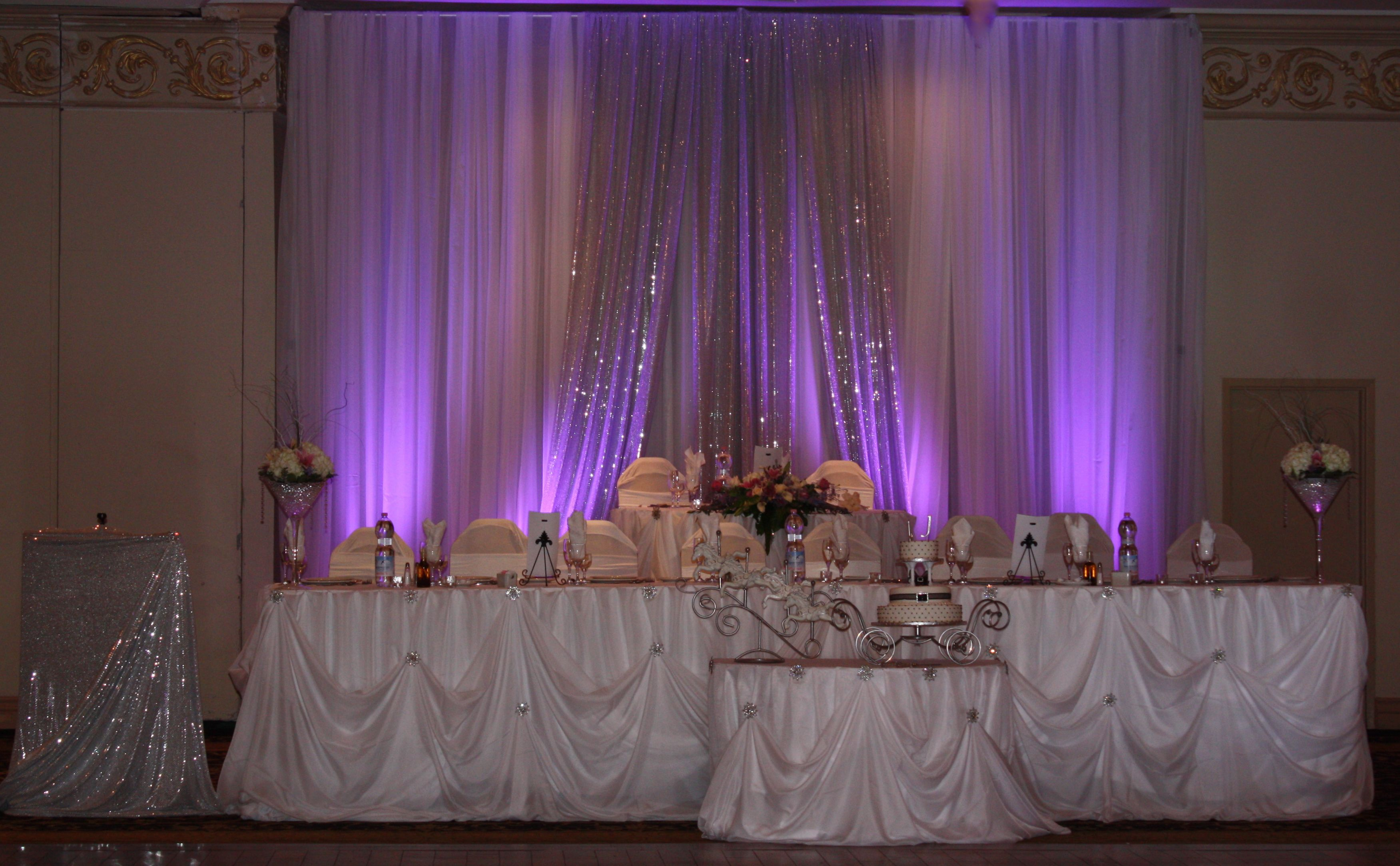 wedding stage decoration pics%0A Could be set up behind cake or gift table rather than wedding