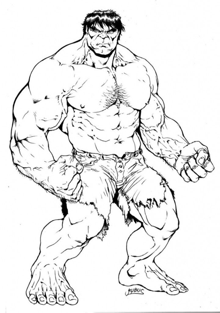 Free Printable Hulk Coloring Pages For Kids | Colorin, Colorear y Pintar