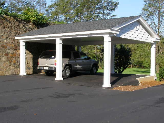 Carport ideas garage photos workshop photos hws for Garage with carport designs